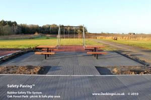 DNI - Safety Paving - Grey -Oak Forest Park 900